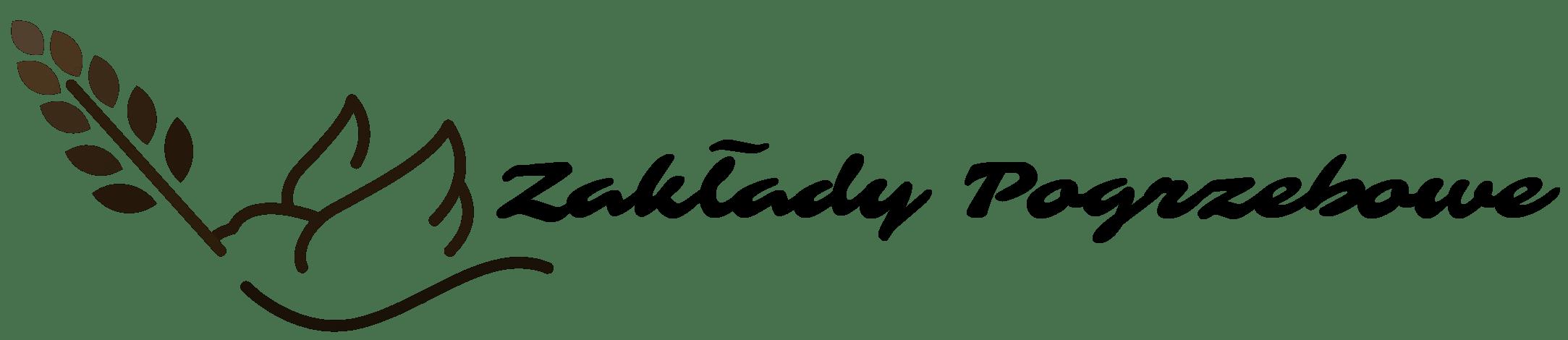 logo zakłady pogrzebowe laur